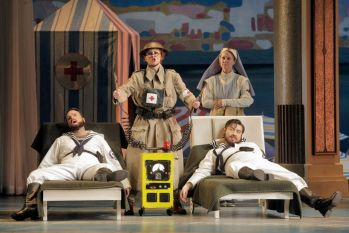 Switching Sides: A Review of Cosi Fan Tutte at Lyric Opera of Chicago
