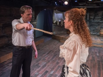 Towers of Hypocrisy: A Review of Pillars of the Community at Strawdog Theatre Company