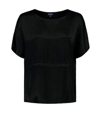 Bloomings zwart loosefit shirt