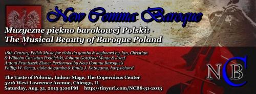 New Comma Baroque - Muzycznego piękna w Barokowej Polsce: The Musical Beauty of Baroque Poland