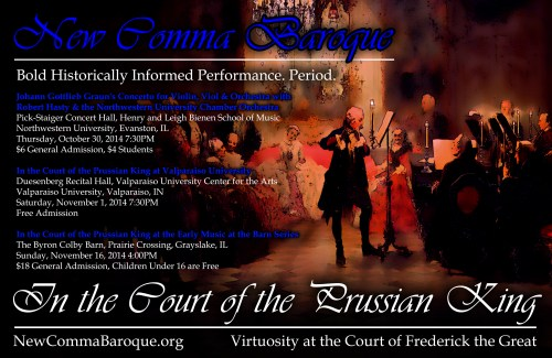 New Comma Baroque - In the Hall of the Prussian King