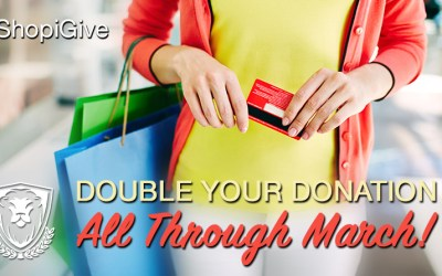 Double Your Giving In March