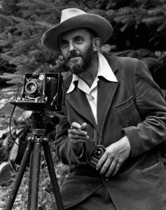 Ansel Adams - portrait