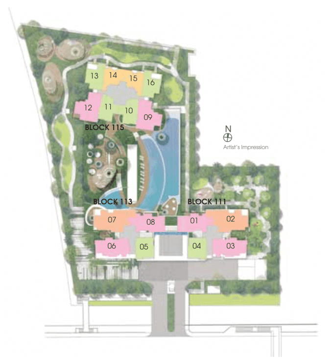 New Condo Launch - Trilive - Site Plan