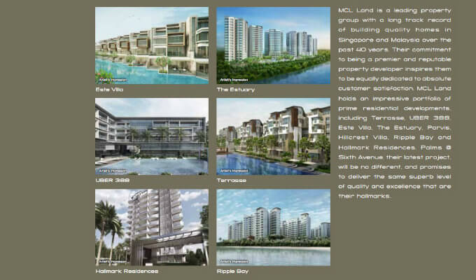 Palms @ Sixth Avenue - MCL Land Projects
