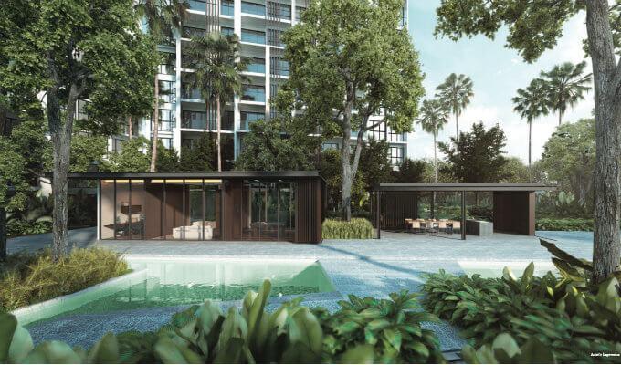 Condo Singapore - Botanique @ Bartley - Clubhouse