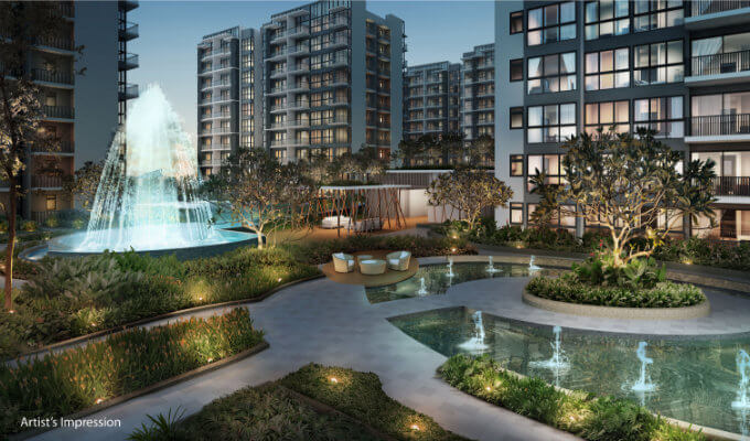 Singapore Property - North Park Residences - Fountain Cove