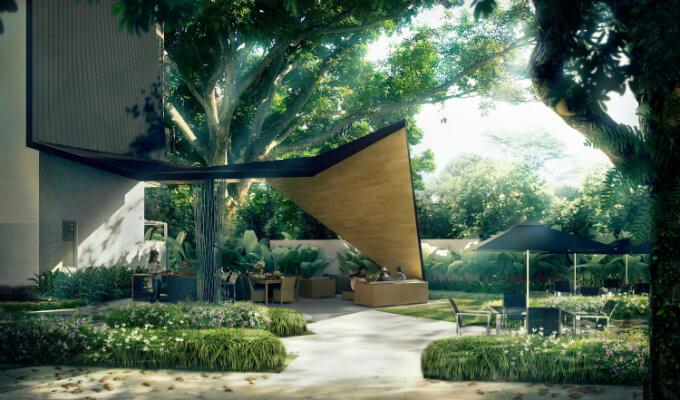 Mon Jervois - Dining Pavilion