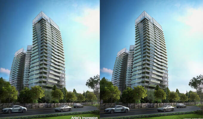 New Condo Launch - Gramercy Park - Facade