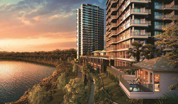 Rivertrees Residences - Dusk View