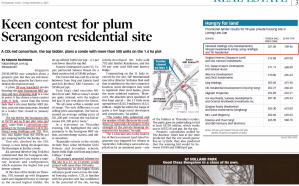 Lorong Lew Lian Site Won By CDL, Hong Leong, TID