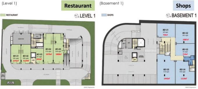 183 LongHaus - Restaurant And Shop Site Plan
