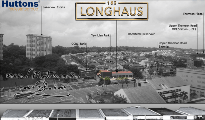 183 LongHaus - Singapore Property - Aerial View