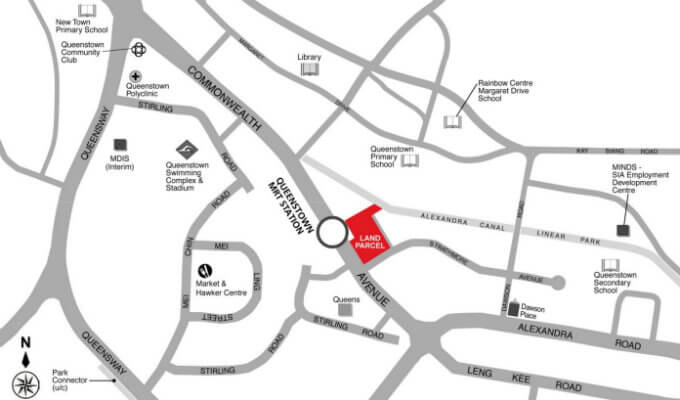 Dundee Road New Launch - Location Map