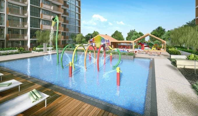 Sol Acres - Singapore Condo - Water Play
