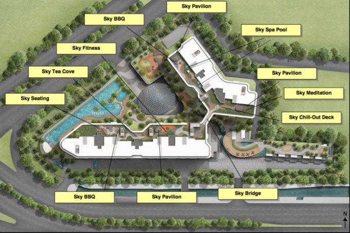 Stars Of Kovan Roof Top Plan