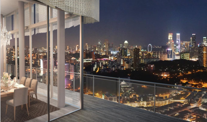 Highline Residences - Singapore Condo - View of CBD