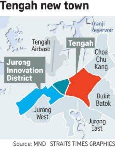 Jurong Innovation District at Tengah, Bulim and NTU