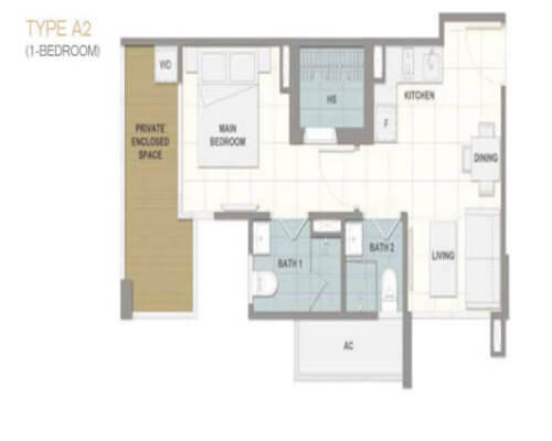 Forte Suites 1-Bedroom - New Launch Singapore