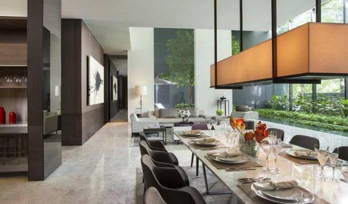 Leedon Residence Dining Room