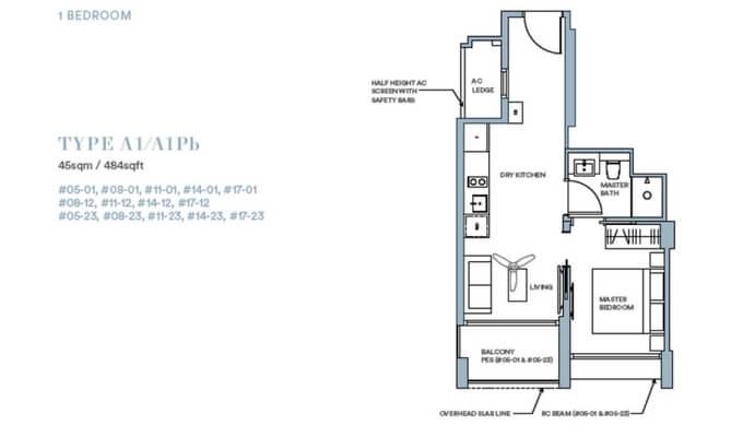 Park Place Residences 1br