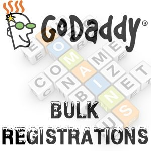 GoDaddy Bulk Registration