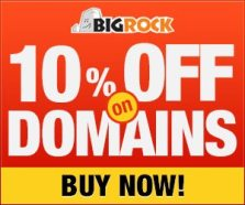 Cheapest .NET domain registration at BigRock