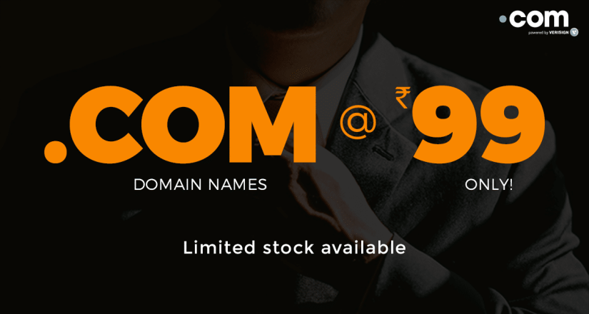 BigRock Register .COMs, .NETs & .INs Domains Just $1.48 The First Year