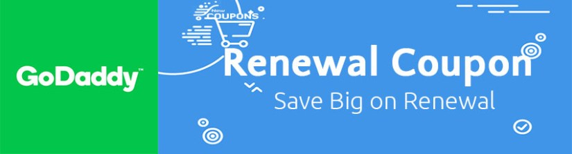 GoDaddy Renewal Coupon - Up To 50% Off - November 2018