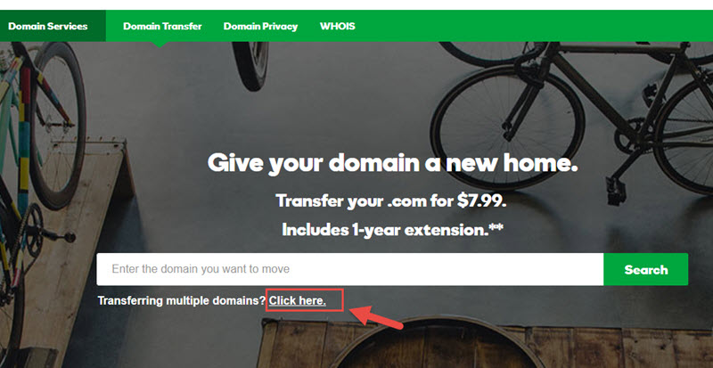 $0.99 GoDaddy Domain Transfer Coupon June 2019 - Free 1-Year Extension