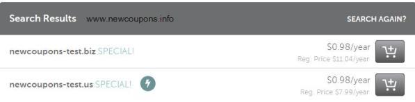 Namecheap Coupon Domains .US & .BIZ Just $0.98/Year