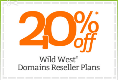 Godaddy Get an Extra 20% off Reseller Plans