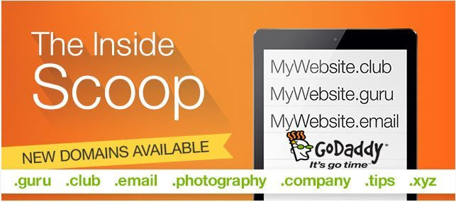 Godaddy New Domain Coupon Codes - 40% Off in August!