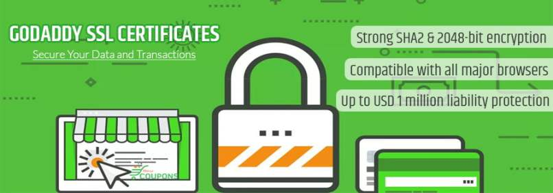 35% Off + $40/yr Godaddy SSL Coupon September 2019