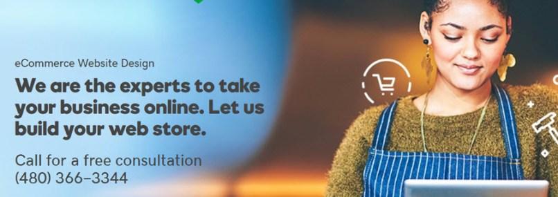 GoDaddy eCommerce Website Design: A Web Store Design Service!