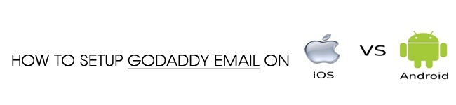 How to Setup GoDaddy Email on Iphone or Droid?
