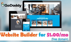 godaddy builder coupon 1usd