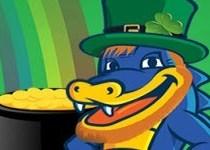 HostGator discount 55% for new hosting on St. Patrick's Day!