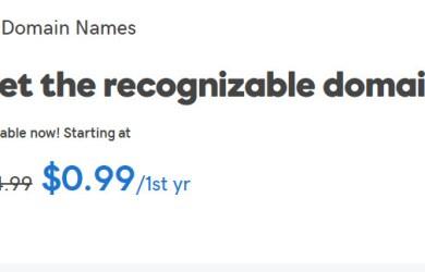 godaddy co domain 99cent