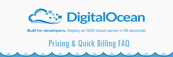 DigitalOcean Full Pricing - Droplets Starting At $5/m