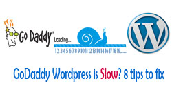8 tips to fix godaddy wordpress slow thumbnail