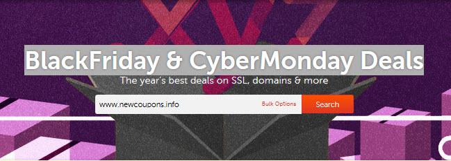 NameCheap Black Friday & Cyber Monday 2015 Deals
