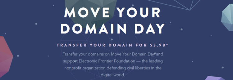namecheap moveyourdomainday deal 2016