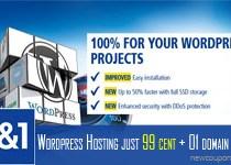 IONOS WordPress Hosting Coupon in November 2018: $0.99/mo + Free Domain