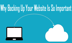 how to backup your site