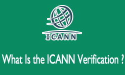 what is icann verification