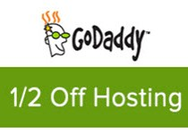 GoDaddy Deluxe hosting coupon for save 50%