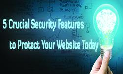 website sercurity 5 features
