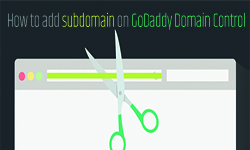 how add sub domain on godaddy domain control