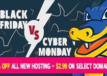HostGator Black Friday & Cyber Monday 2016 Coupons
